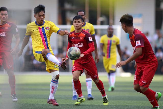 U-22 VN hòa CLB Sài Gòn 1-1 trước khi dự Giải U-22 Đông Nam Á 2019 - Ảnh 1.
