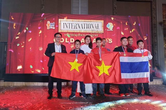 Học sinh Hà Nội giành huy chương vàng Tìm kiếm tài năng toán học quốc tế 2019 - Ảnh 1.