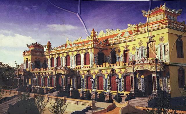 Khởi công khôi phục điện Kiến Trung chỉ còn móng trong Tử Cấm Thành - Ảnh 1.