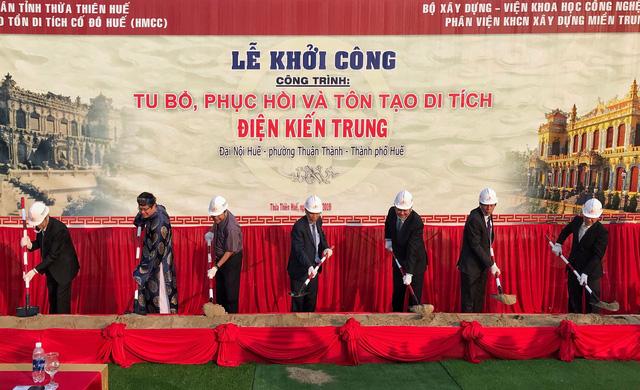 Khởi công khôi phục điện Kiến Trung chỉ còn móng trong Tử Cấm Thành - Ảnh 2.