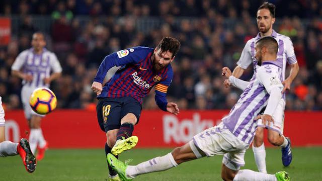 Messi ghi bàn duy nhất, Barcelona đá bại Valladolid - Ảnh 2.