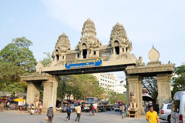 Giá đất ở các vùng biên giới Campuchia đang tăng nhanh - Ảnh 1.