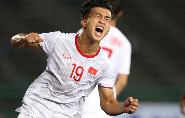 Đá bại U-22 Đông Timor, U-22 Việt Nam đoạt vé vào bán kết - Ảnh 1.