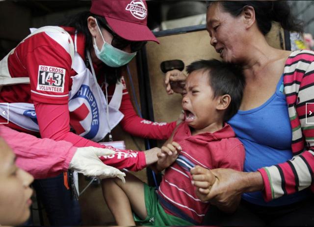 136 người đã chết vì sởi ở Philippines - Ảnh 1.