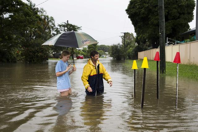 Miền đông Úc sắp hứng trận lụt thế kỷ - Ảnh 1.