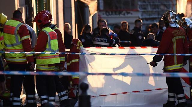 Pháp bắn chết nghi phạm tấn công dao nhiều người ở Marseille - Ảnh 1.