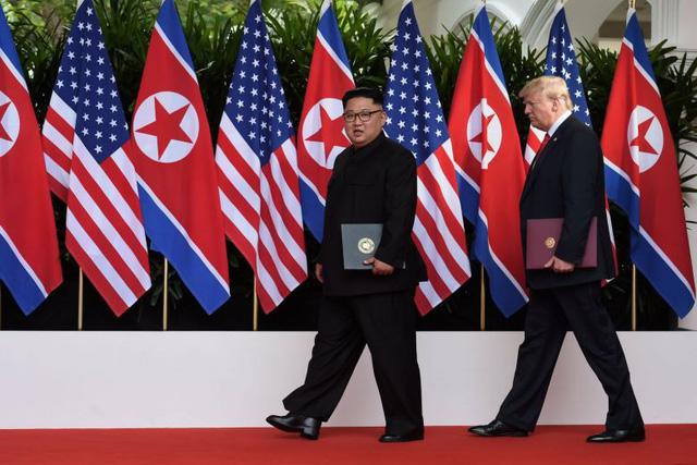 Ông Trump đưa ra triển vọng nới lỏng biện pháp trừng phạt Triều Tiên - Ảnh 1.