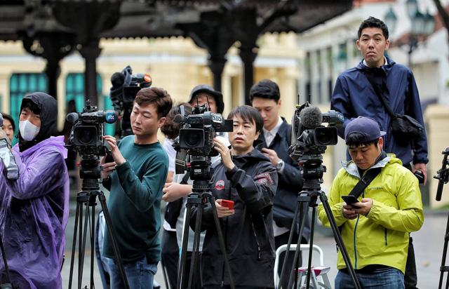 2.600 phóng viên nước ngoài đăng ký đưa tin sự kiện Mỹ - Triều - Ảnh 1.