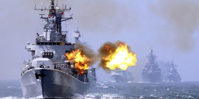Trung Quốc tập trận phòng chiến tranh ở Biển Đông - Ảnh 1.