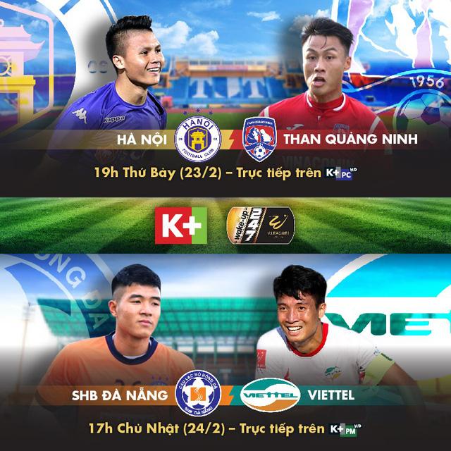 K+ phát sóng giải V-League 2019 - Ảnh 1.