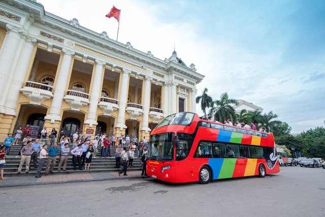 Miễn phí xe buýt cho phóng viên đưa tin Hội nghị thượng đỉnh Mỹ - Triều - Ảnh 1.