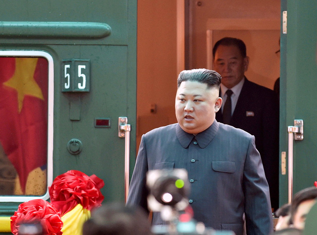 Nhà lãnh đạo Triều Tiên tươi cười rạng rỡ khi đặt chân tới Đồng Đăng - Ảnh 4.