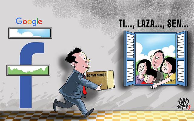 Doanh nghiệp than vì quảng cáo trên Facebook, Google tốn kém hơn - Ảnh 1.