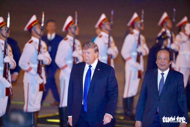 Tổng thống Mỹ Donald Trump đã trở lại Việt Nam - Ảnh 2.