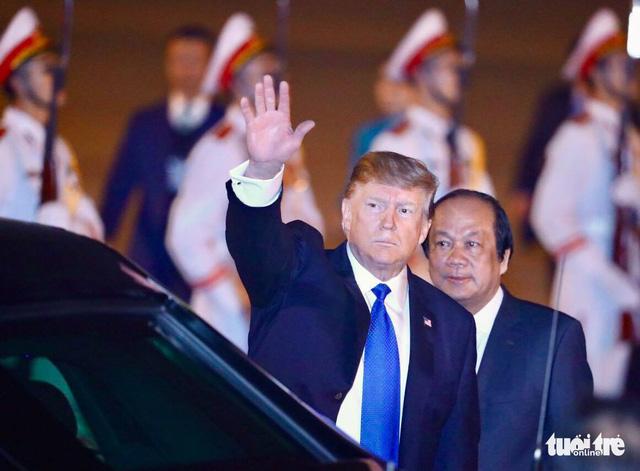Tổng thống Mỹ Donald Trump đã trở lại Việt Nam - Ảnh 1.