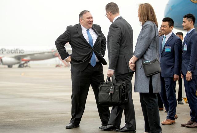 Ngoại trưởng Mỹ Mike Pompeo đã đến Hà Nội - Ảnh 2.