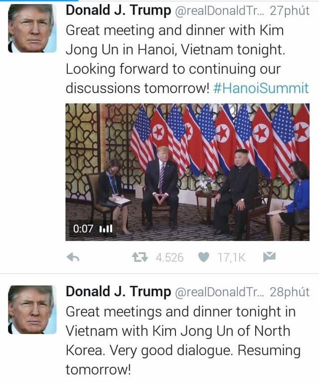 Lãnh đạo Mỹ - Triều gặp lần 2 sáng nay ở Metropole - Ảnh 1.