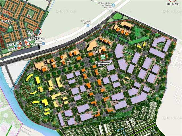 TP.HCM chỉ đạo ngưng đấu giá, thanh tra dự án Khu công nghiệp Phong Phú - Ảnh 1.