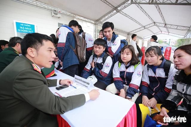 Dự kiến tạm dừng tuyển sinh đại học các trường công an phía Nam - Ảnh 1.