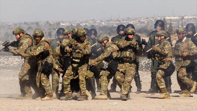 Mỹ lại tăng thêm 3.750 binh sĩ đến biên giới với Mexico - Ảnh 1.