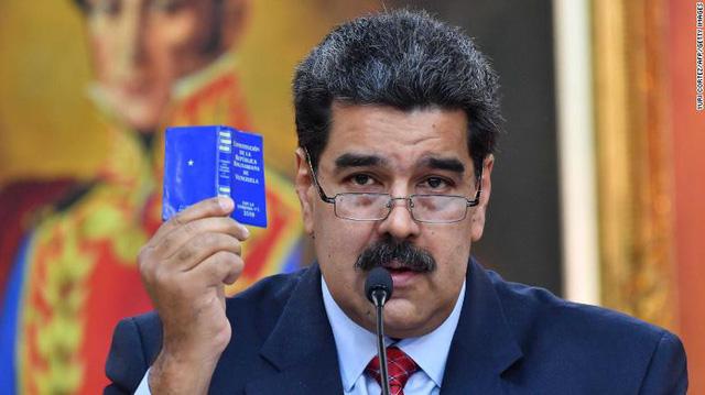 Tổng thống Venezuela phản bác tối hậu thư của châu Âu - Ảnh 1.