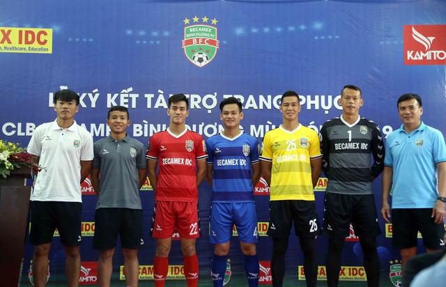 Kamito là nhà tài trợ áo đấu mới của CLB B.Bình Dương - Ảnh 2.