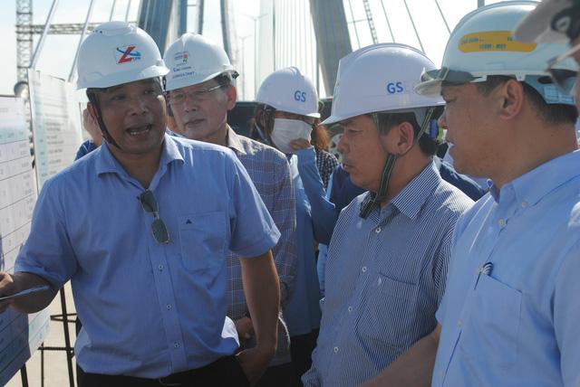 Bộ trưởng Nguyễn Văn Thể: 'Hoàn thành cầu Vàm Cống với tinh thần Park Hang Seo'