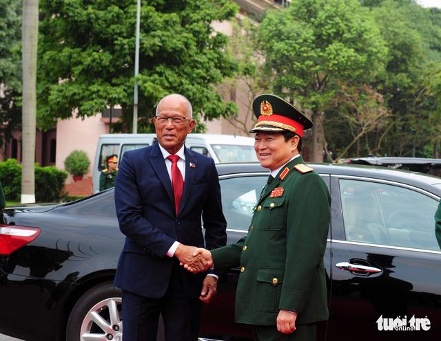 Quan hệ quốc phòng Việt Nam - Philipines phát triển tích cực - Ảnh 1.