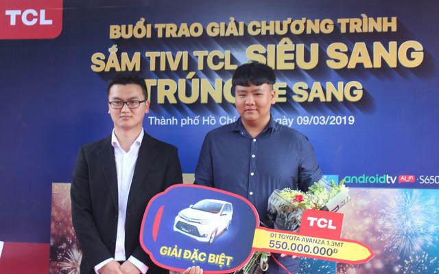 TCL Việt Nam trao thưởng chương trình Sắm tivi TCL siêu sang - trúng xe sang - Ảnh 1.