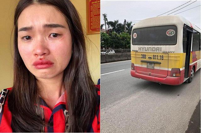 Chụp  xe dù giả xe buýt, nữ hành khách bị đánh chảy máu mũi - Ảnh 1.