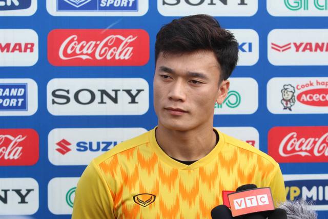"""Thủ môn Bùi Tiến Dũng: """"Tuyển U-23 Việt Nam quyết vượt qua Thái Lan và Indonesia"""" - Ảnh 1."""