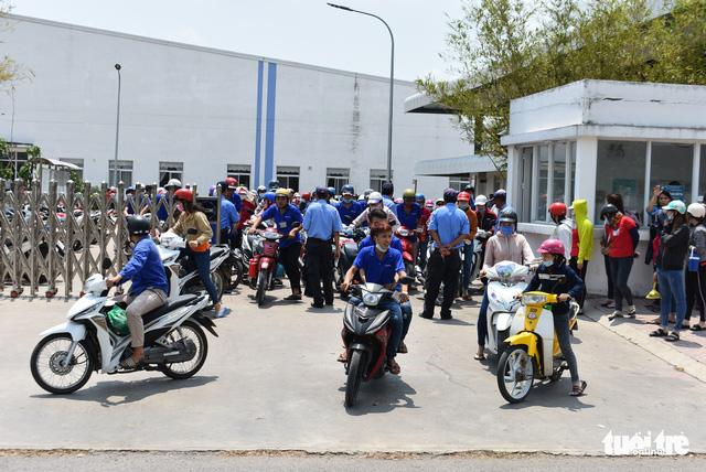 Gần 100% công nhân Công ty Lu An đã đi làm trở lại - Ảnh 2.