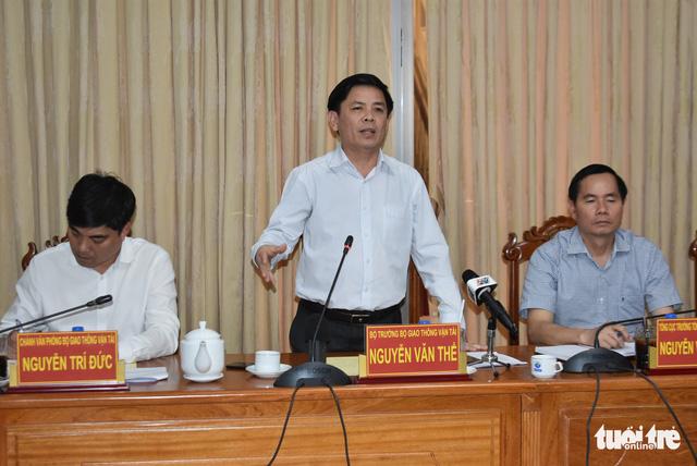 Bộ trưởng Nguyễn Văn Thể: Xây dựng, quản lý đường tránh TP Long Xuyên như cao tốc - Ảnh 2.