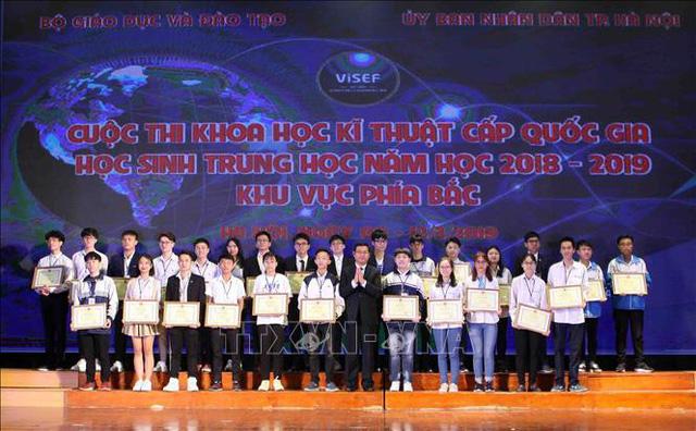 15 dự án đạt giải nhất cuộc thi khoa học kỹ thuật phía Bắc - Ảnh 1.