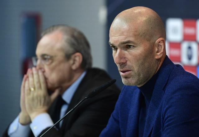 Zidane là huấn luyện viên thứ 11 'đi rồi về' Real Madrid - Ảnh 1.