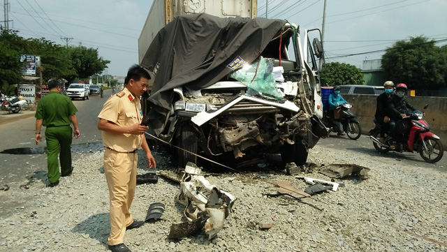Bình Phước: Tai nạn giao thông, 2 thanh niên chết, 1 tài xế bị thương nặng - Ảnh 1.