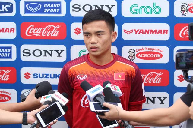 Bài tập thể lực ở đội tuyển U-23 Việt Nam khá nặng - Ảnh 1.