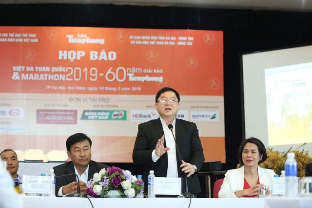 2.000 VĐV tham dự Giải Việt dã toàn quốc Báo Tiền Phong 2019 - Ảnh 1.