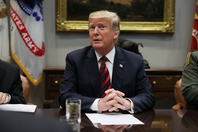 Tổng thống Trump: Không vội trong đàm phán thương mại với Trung Quốc - Ảnh 1.