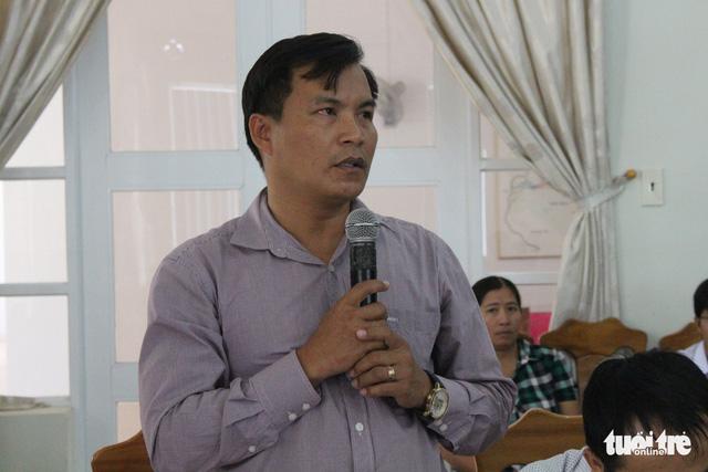 Một chủ tịch xã lộng hành ở Bắc Vân Phong - Ảnh 1.