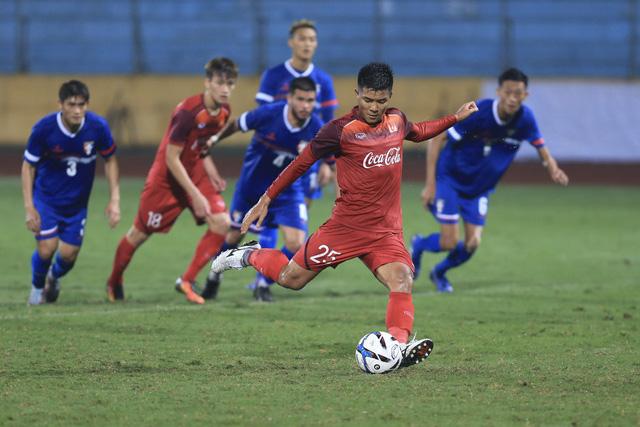 Không Quang Hải, Văn Hậu, U-23 Việt Nam vẫn thắng tuyển U-23 Đài Loan 6-1 - Ảnh 1.