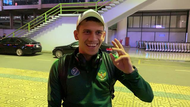 Tiền đạo đang đấu ở châu Âu của U-23 Indonesia nói sai tên đội chung bảng - Ảnh 1.
