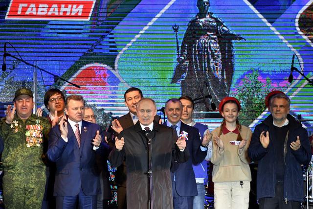 Tổng thống Putin bay đến Crimea dự kỷ niệm 5 năm ngày sáp nhập - Ảnh 1.