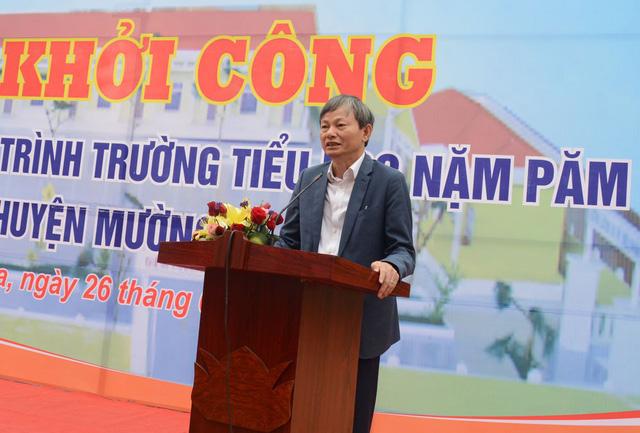 EVN tài trợ 29 tỉ đồng xây dựng lại cụm trường học tại xã Nặm Păm - Ảnh 2.