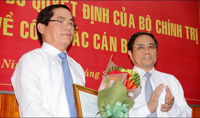 Ông Phạm Viết Thanh làm bí thư Tỉnh ủy Tây Ninh - Ảnh 1.