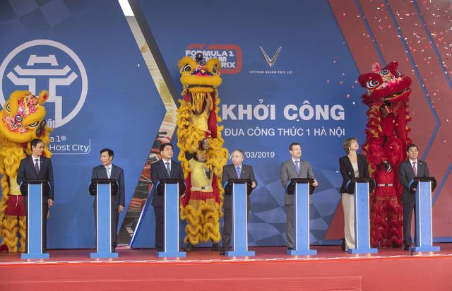 Hà Nội khởi công Đường đua công thức 1 - Ảnh 1.