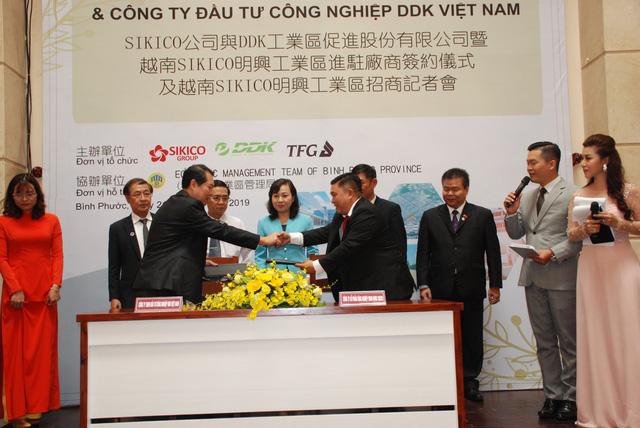 Doanh nghiệp Đài Loan đầu tư 30 triệu USD vào KCN Minh Hưng Sikico - Ảnh 1.