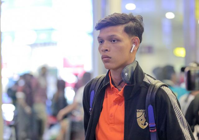 Tới Hà Nội, tiền đạo U-23 Thái Lan muốn đánh bại U-23 Việt Nam từ vòng loại - Ảnh 1.