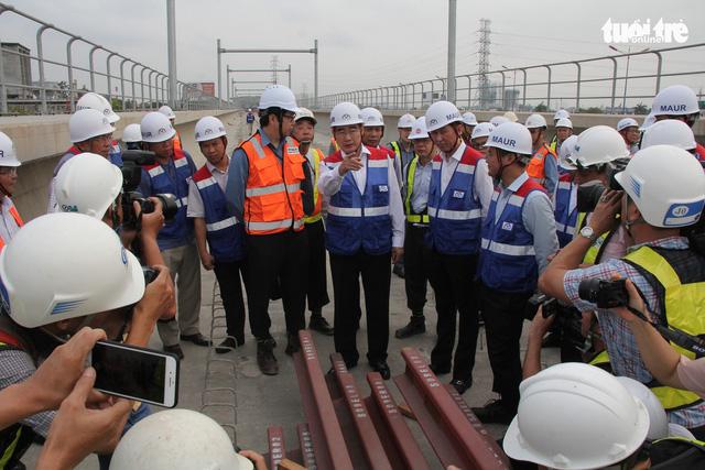 TP.HCM tạm ứng hơn 2.158,5 tỉ đồng cho tuyến metro số 1 - Ảnh 1.