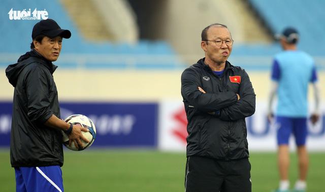 U-23 Việt Nam được tặng nửa tỉ ngay trên sân tập - Ảnh 2.